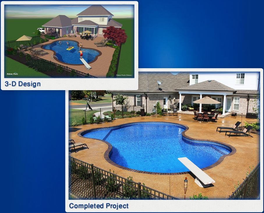 Why Pool Design is Better When Using 3D Design Technology