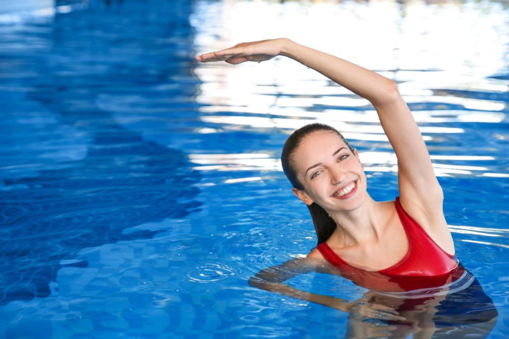 swimming pool exercise