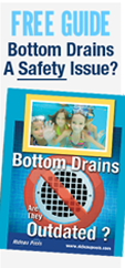 free pool bottom drain guide