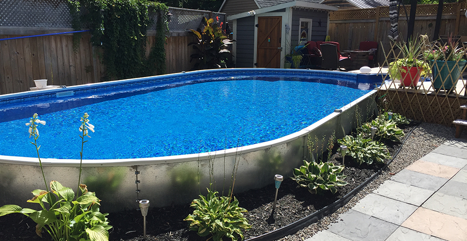 Semi Inground Pools Are A Specialized Pool Borrowing Their Design Partly From The Above Ground Market While Also Being Dug Down Partially Into